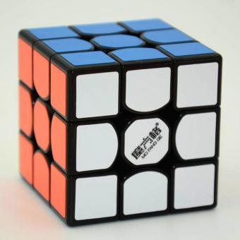 360DSC QiYi MFG 3x3x3 New Thunder Clap Speed Magic Cube Puzzle withPVC Stickers - Black - intl Price Philippines