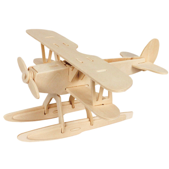 3D Three-Dimensional Wooden Animal Jigsaw Puzzle Toys for Children DIY Handmade Wooden Jigsaw Puzzles Animals Insects Series (Intl)