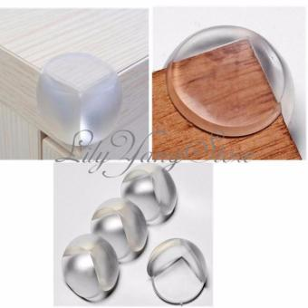 4 Pcs Useful Table Desk Corner Cushion Protectors Guard For BabySafety - intl