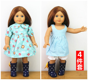 46cm sale doll clothes accessories girl's baby clothes
