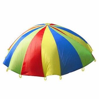 4m Kids Play Rainbow Parachute Outdoor Game Exerclse Sport - intl Price Philippines