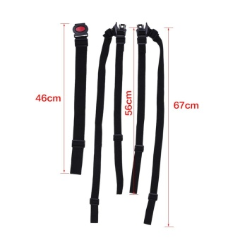 5 Point Harness Adjustable Baby Stroller Safety Strap Pram Seat Belt - intl - 4