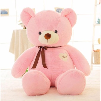 60cm Cute 4 Color Teddy Bear Plush Soft Stuffed Animals Doll Toys For Kids Birthday Gifts - intl
