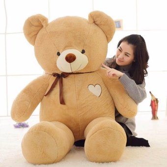 60cm Cute 4 Color Teddy Bear Plush Soft Stuffed Animals Doll ToysFor Kids Birthday Gifts - intl