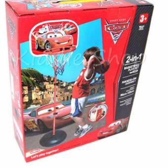 666-8C Mcqueen 2 in 1 BASKETBALL SET For KIDS Indoor/Outdoor Playset Price Philippines