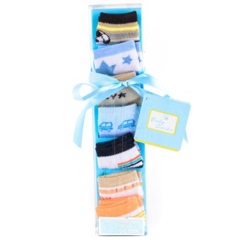7 Days Socks Gift Set for Boys- Multicolor