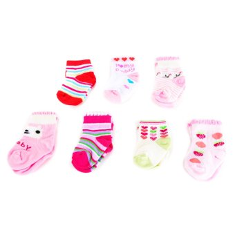 7 Days Socks Gift Set for Girls - Multicolor