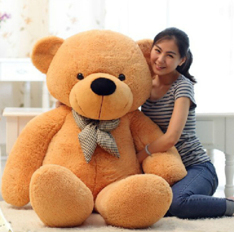 [80-120cm 3 Colors] Giant Large Size Teddy Bear Plush Toys StuffedToy Lowest Price Birthday gifts Christmas - intl