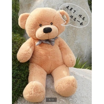 [80-120cm 3 Colors] Giant Large Size Teddy Bear Plush Toys Stuffed Toy Lowest Price Birthday gifts Christmas - intl - picture 2