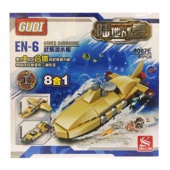 8007E GUDI 3in1 Armed Submarine Price Philippines