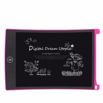 8.5 Inch LCD Writing Tablet Portable Drawing Board(white) with FreeLED Watch - 3