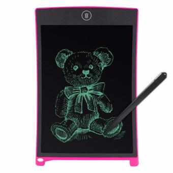 8.5 Inch LCD Writing Tablet Portable Drawing Board(white) with FreeLED Watch - 2