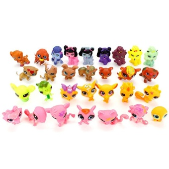 8pcs Littlest Pet Shop 100% Loose Animals Figures For Child Girl Toys Gift - intl Price Philippines