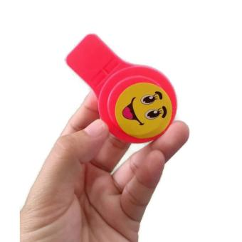 8Pcs/Lot Whistle Toys for Kids Party Favors Supplies Girl BoyBirthday Party Gift Plastic Assorted Color Whistle 45g - 4
