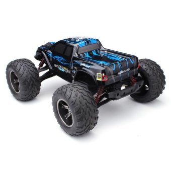 9115 2.4G RC RTR Off-road Monster Truck Car 1/12 Scale 4WD - Blue /UK Plug - intl