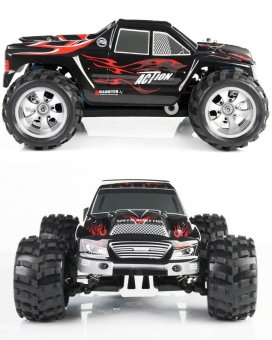 A979 RC Cars Truck 1/18 Scale 2.4GHz 4WD Outdoor Toy Hobby RacingCar High Speed - intl