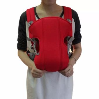 Adjustable Straps Baby Carriers (Red)