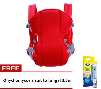 Adjustable Straps Baby Carriers (Red) with Free Onychomycosis suitto fungal 3.8ml