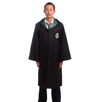 Adult Harry Potter Magic Robe Cloak Deluxe Robe Size-M (Slytherin) Price Philippines