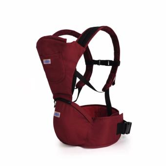 AIEBAO Baby Carrier Waist Belt Infant Hip Seat(Red) - intl