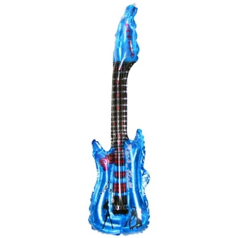 Air Guitar Music Instrument Toy Party Decor blue - intl