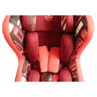Akeeva Ultra Compact Ergonomic Carseat (Red) - 4