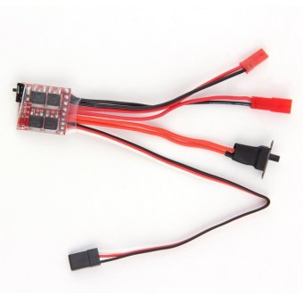 Allwin RC ESC 20A Brush Motor Speed Controller w/ Brake for RC CarBoat Tank New Price Philippines