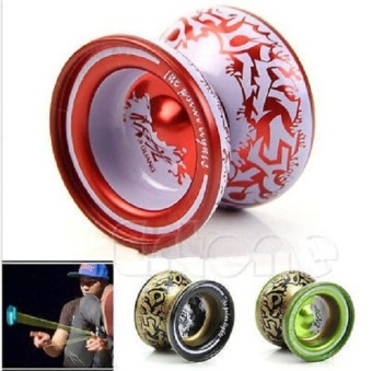 Aluminum Alloy YoYo Ball Bearing String Kids Children Playing Toy -intl