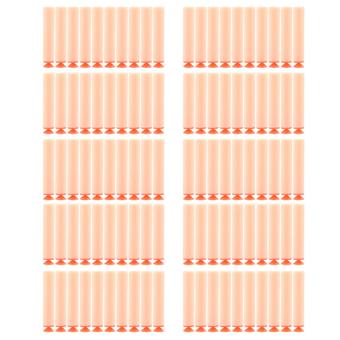 Amango Refill Darts Bullet for NERF Orange 100pcs
