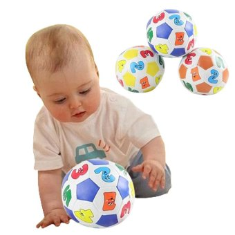 Amart Children Educational Toy Baby Learning Rubber Ball - intl Price Philippines