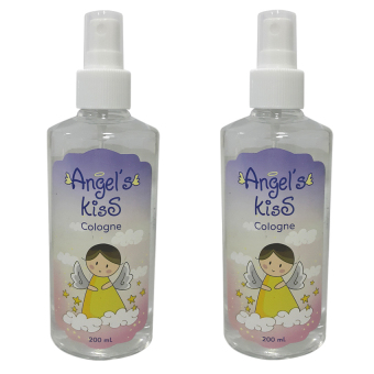 Angel's Kiss Baby Cologne 200ml Set of 2 (White)
