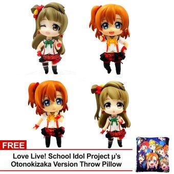 ANIME Love Live! School Idol Project Honoka x Kotori Chibi Figures Set of 4