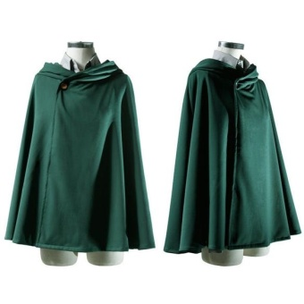 Anime Shingeki no Kyojin Cloak Cape Clothes Cosplay Attack on TitanCostume - intl Price Philippines
