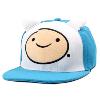 ANIME ZONE Adventure Time Finn the Human Unisex Fashionable Snapback Cosplay Cap