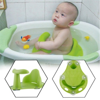 Anti Slip Safety Chair Baby Bath Seat Tub Ring Seat Infant KidsBathtub Chair - intl