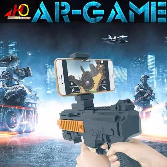 AR Gun Shooting Game with Cell Phone Stand Holder AR Toy Game Gun with 3D AR Games for iPhone Android Smart Phone Augmented Reality Game Price Philippines