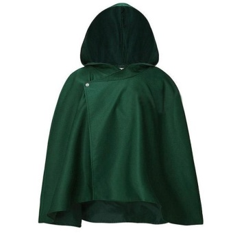 Attack on Titan Anime Shingeki no Kyojin Cloak Clothes COS Cosplay Cloth - intl