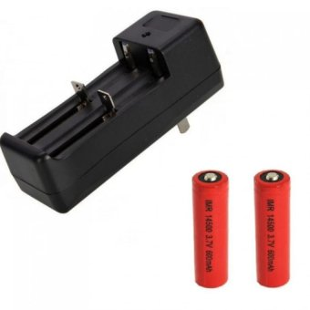 Auxis Universal Dual Slot Li-Ion Battery Charger for 3.7V 1865014500 16340 18350 etc Price Philippines