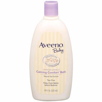 Aveeno Baby Calming Comfort Bath Lavender & Vanilla Scented(180Z/532ml) Price Philippines