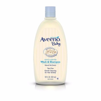 Aveeno Baby Wash and Shampoo 532ml