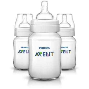 Avent 9oz Anti-Colic Bottles - Pack of 3