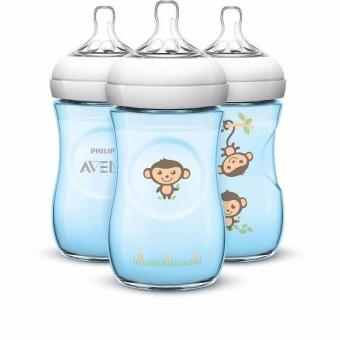 Avent 9oz Natural Special Edition Bottles - Pack of 3 - Monkeys