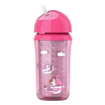 Avent Insulated Straw Cup 9oz 12M+ (Pink) Price Philippines