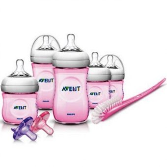 Avent Natural Infant Starter Gift Set (Pink) Price Philippines