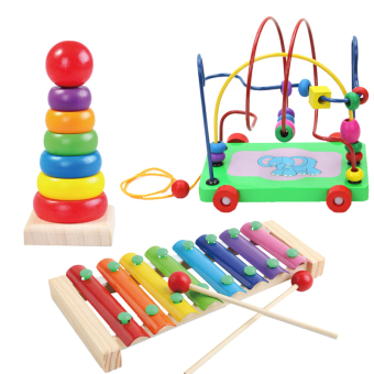 Babies' Early Childhood Education Intelligent Bead Maze