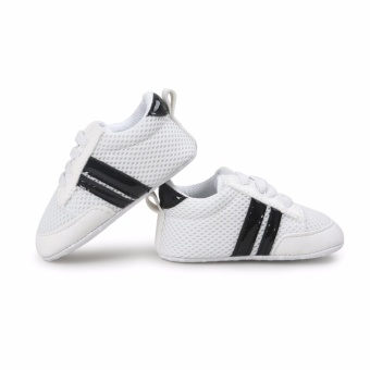 Babt Shoes Soft Bottom Fashion Sneakers Baby Boys Girls FirstWalkers Baby Indoor Non-slop Toddler Shoes - intl