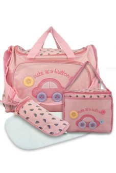 Baby 002 Cute Diaper Bag (Pink) Price Philippines