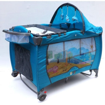 Baby Angel Playpen (Blue) Price Philippines