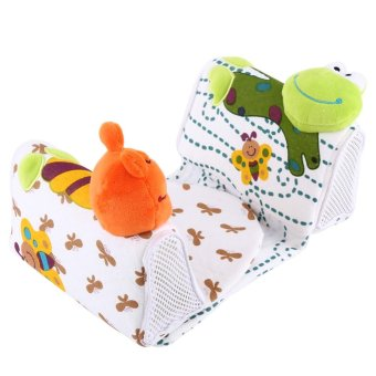 Baby Animal Shaped Sleep Positioner Pillow Frog - intl