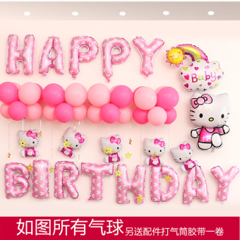 Baby birthday anniversery party dress up balloon